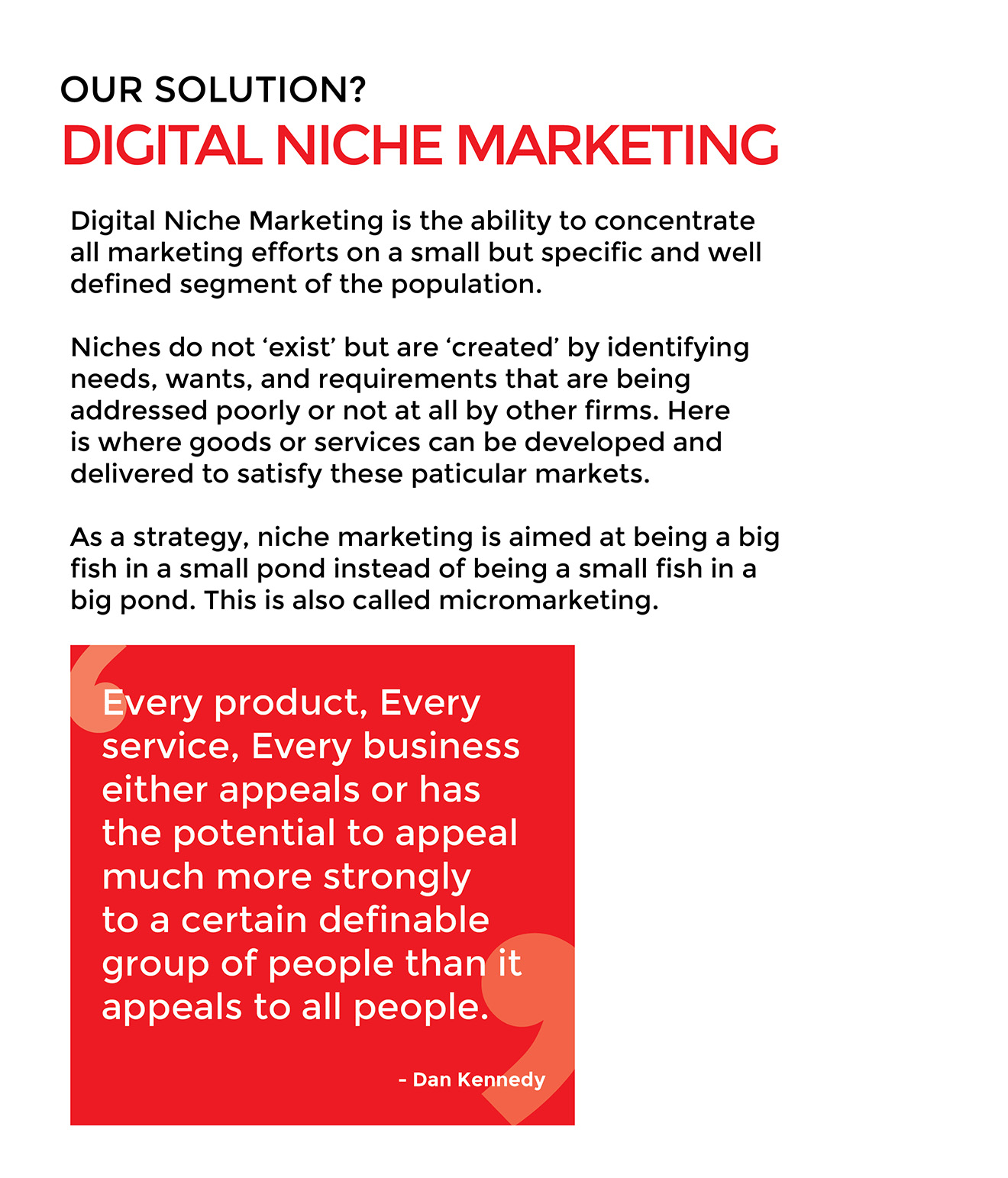 nichemarketing
