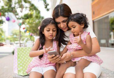 Smartphones and children